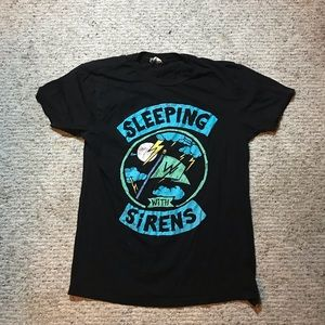 Vintage Sleeping with Sirens Rock Band T-Shirt